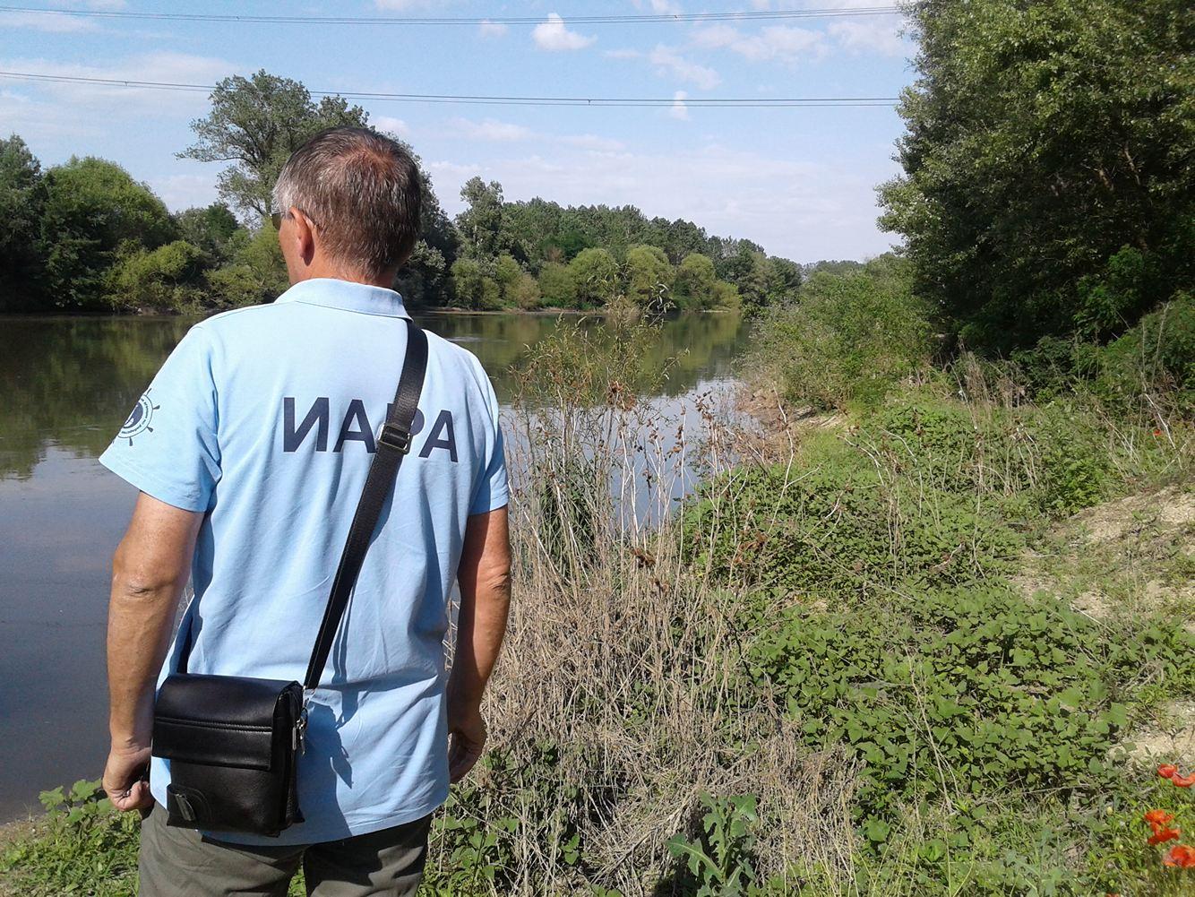Мрежа от река Марица 29.05.2018