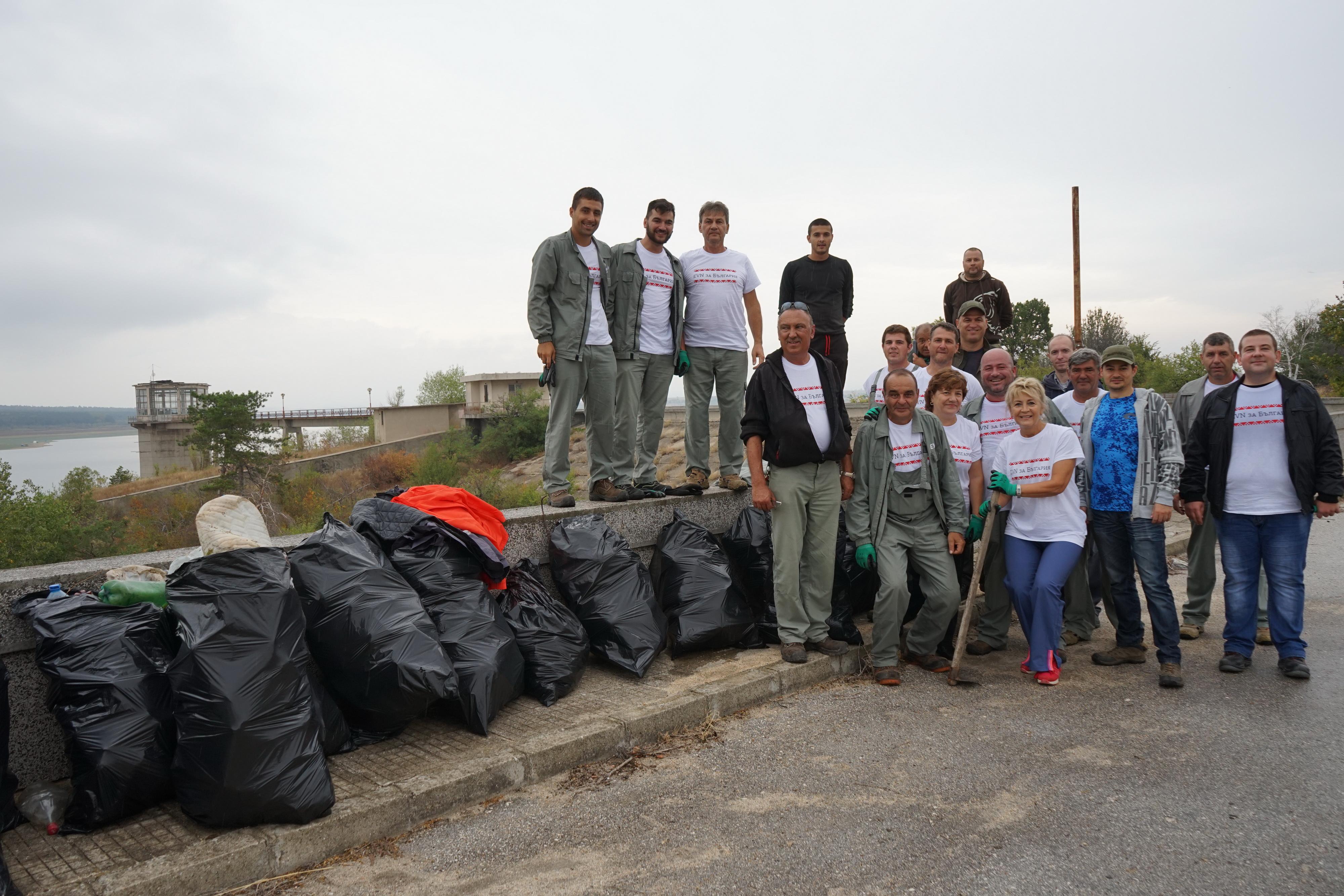 Почистване на Пясъчник с EVN България 2019